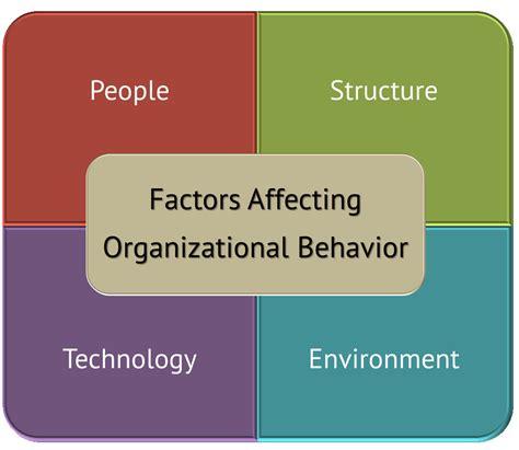 organizational design for dynamic environment pdf 4 key forces affecting organizational behavior explained
