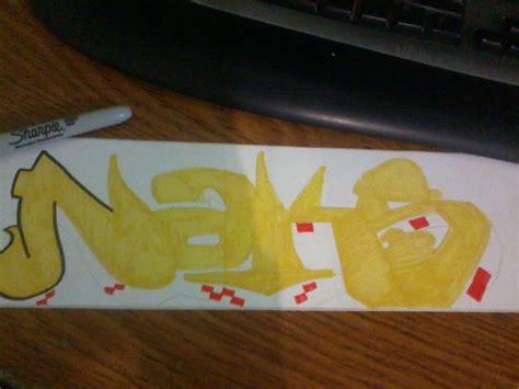 como hacer graffiti stickers paso  paso arte taringa