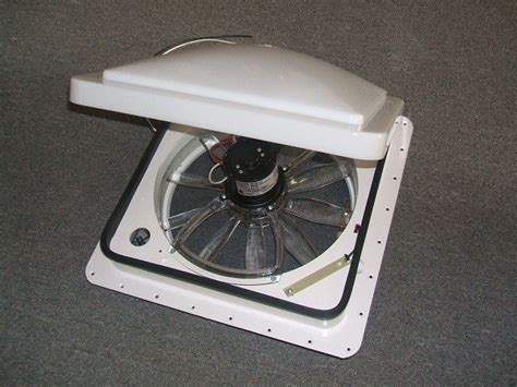 what is a fantastic fan fantastic fan tastic rv trailer roof vent 6000 white ebay