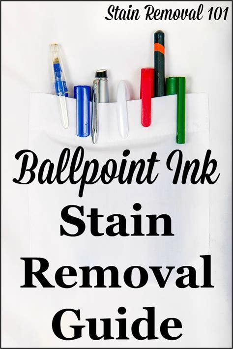 How To Remove Pen Stains From by Ballpoint Ink Stain Removal Guide Removing Pen Stains
