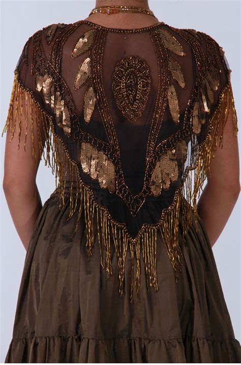 beaded wraps shawls copper beaded shawl western wear by n