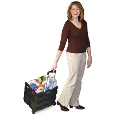 Hair Style Tools Bag With Wheels by Folding Crate On Wheels