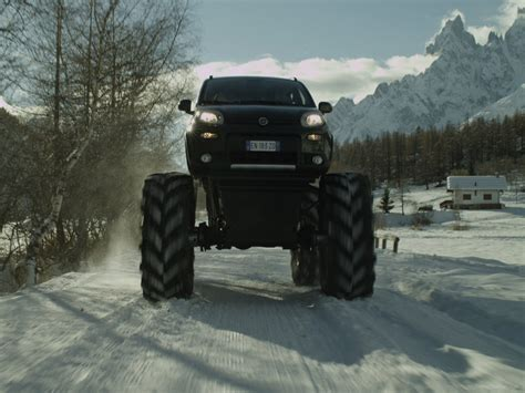 monster trucks videos 2013 fiat panda monster truck 2013 exotic car wallpaper 03 of