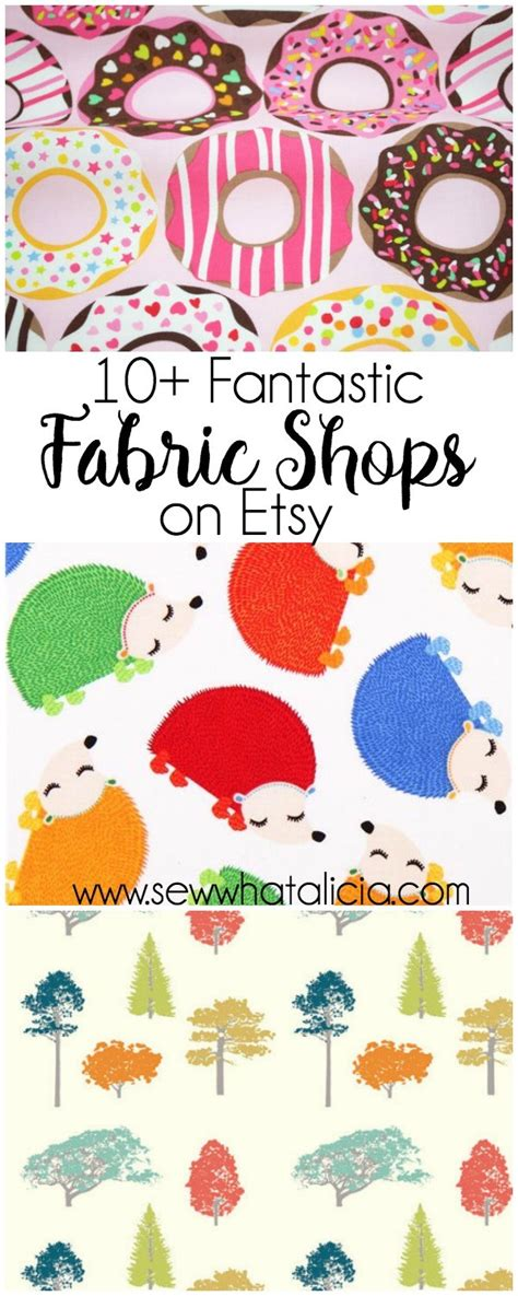 best fabric shops 10 best fabric shops on etsy sew what