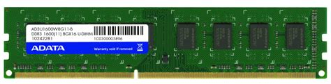 Ram Komputer Ddr3 8gb adata 8gb ddr3 ram 1600mhz pc3 12800 dimm global pc
