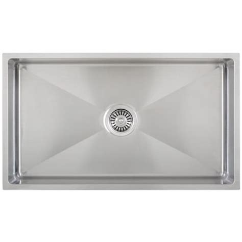 ticor stainless steel sinks ticor s6513 undermount 16 g radius stainless steel