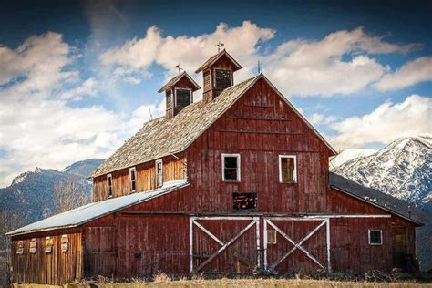 beautiful barn barns coops and cabins pinterest