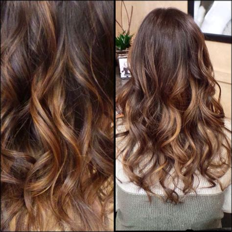 balayage ombre highlights on dark hair top 20 best balayage hairstyles for natural brown black