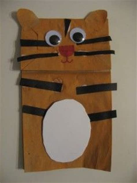 Paper Bag Cat Craft - 1000 ideas about tiger crafts on quilting