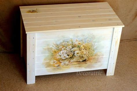 How Do You Decoupage Furniture - decorattic decoupaged furniture a trunk again