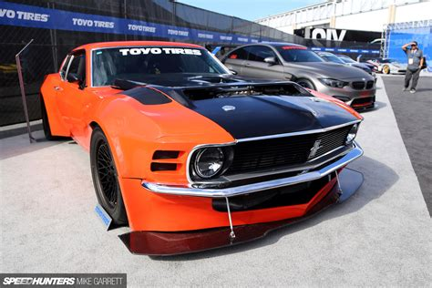 Ford Mustang Meets Nissan R35 Gt R Speedhunters