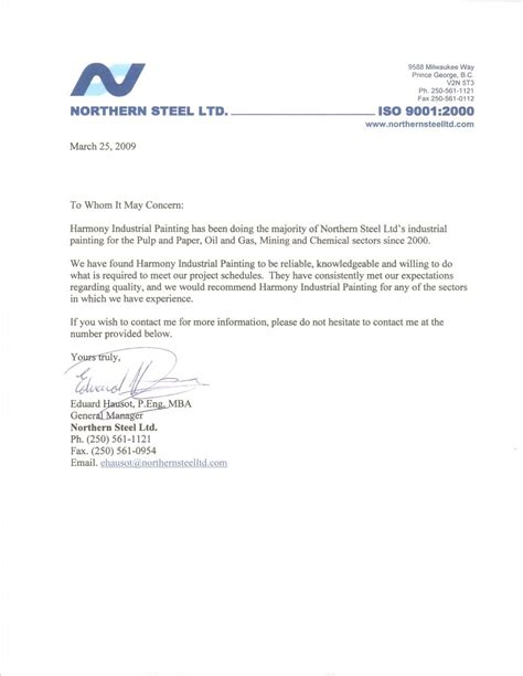 Reference Letter Mba reference letter for mba from manager cover letter templates