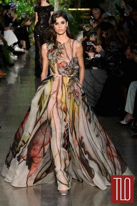 couture embellished denim trend 2015 elie saab spring 2015 couture collection tom lorenzo