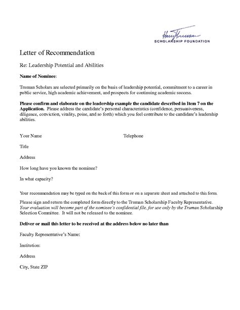 personal letter of recommendation format best photos of exles letters recommendation