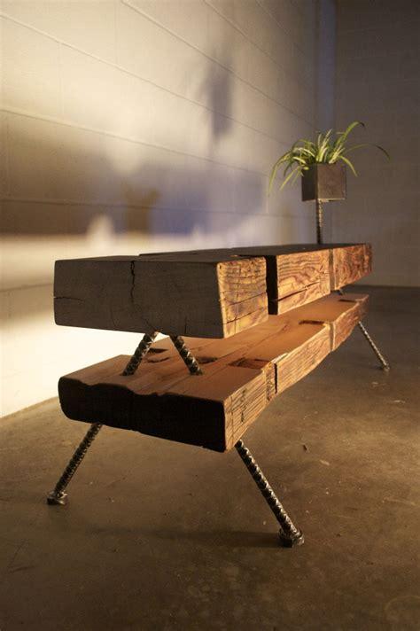 reclaimed wood tables    beams digsdigs