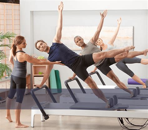 balanced featuring pilates equipment