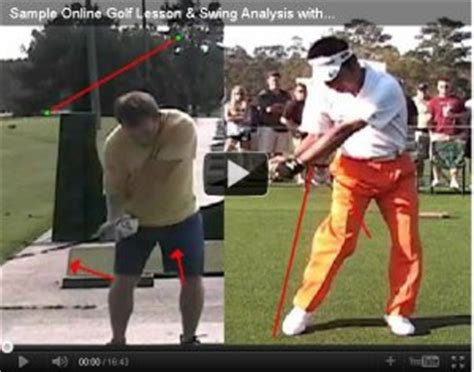 golf swing lessons online online golf lessons video swing analysis herman williams
