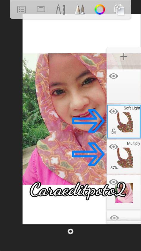 Hem Batik Jb 2 cara menambahkan notif batik pada kerudung smudge painting