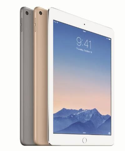 apple announces ipad air 2 with touch id, a8x processor
