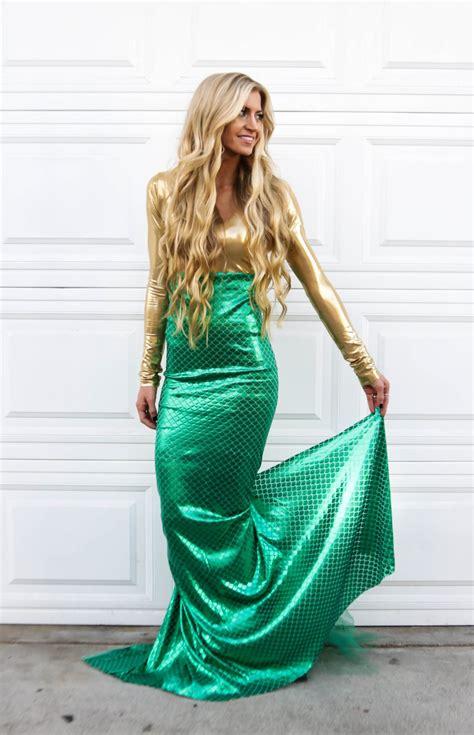 mermaid tutorial golden mermaid costume tutorial elle apparel by leanne