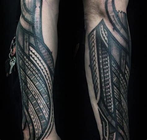 tattoo outer arm manly guys polynesian outer forearm tattoos polynesian