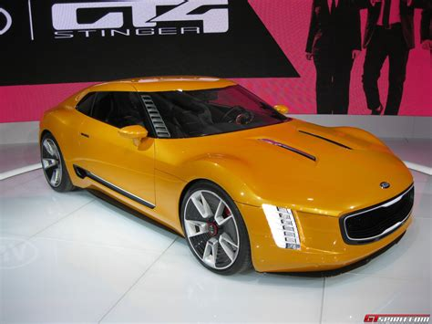 Gt4 Kia Detroit 2014 Kia Gt4 Stinger Concept Gtspirit