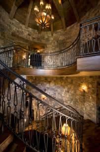Wrought Iron Garden Decor Staircase Rustic Staircase Minneapolis By Marie