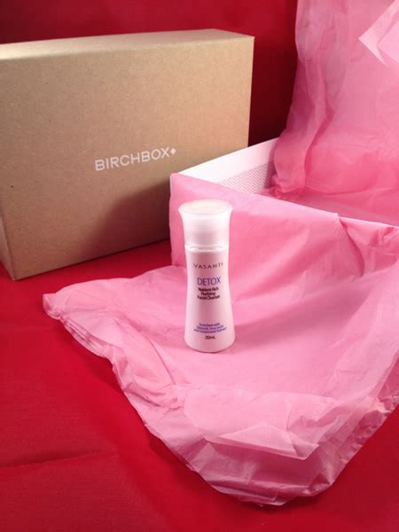 Vasanti Detox by Birchbox January 2014 Hellbent For Lipstick