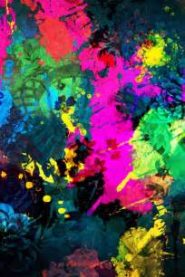 colorful paint splatter simply beautiful iphone wallpapers