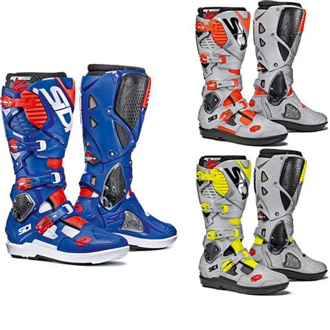 sidi motocross boots review sidi crossfire 3 srs motocross boots arrivals