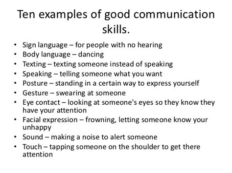 good communication skills verbal and non verbal communication skills