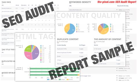Thepixel Free Seo Audit Report Download Free Report Seo Audit Report Template