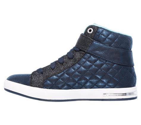 Skechers Quilted by Skechers 84308 Nvy S Shoutouts Quilted Crush