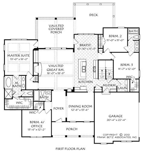 House Plan Details pine meadow house floor plan frank betz associates