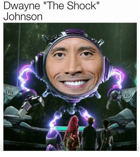 Meme Shock - dwayne the shock johnson shock meme on sizzle
