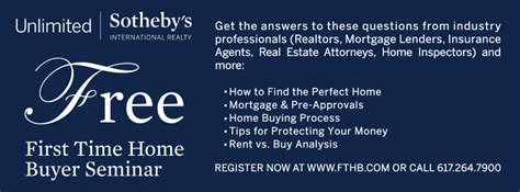 free time home buyer seminarjamaica plain news