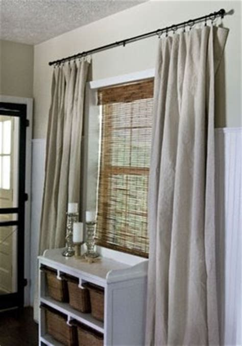 white drop cloth curtains baskets and buttercups drop cloth curtains