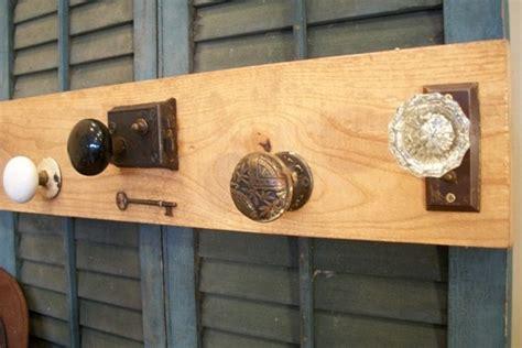 vintage chic door knob coat rack on sale by onequarterken