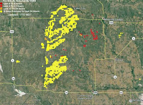 map of current wildfires creek in oklahoma and kansas wildfire today