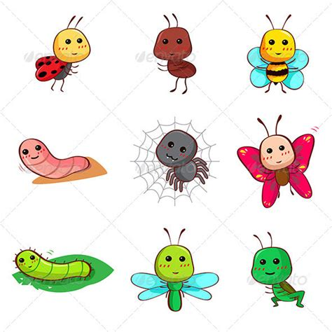 bed bug cartoon 15 great bugs characters vectors design freebies
