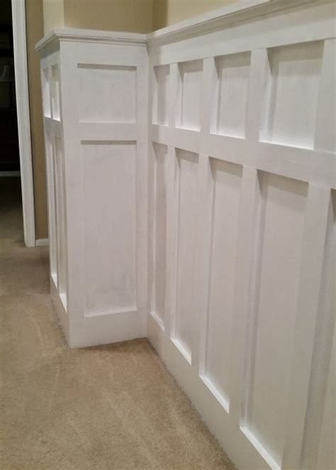 Bathroom Wall Painting Ideas by How To Install Board And Batten Wainscoting White Painted