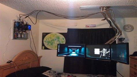 cool gaming bedroom ideas cool bedroom stuff epic gaming computer setup ultimate