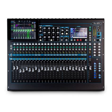 Mixer Allen And Heath allen and heath qu 24 digital mixer chrome edition at