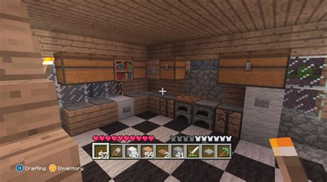 Minecraft Furniture Kitchen Decoration Xbox 360