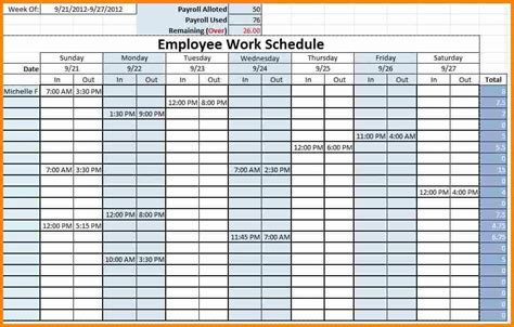 staffing plan template excel staff timetable template free excel employee schedule