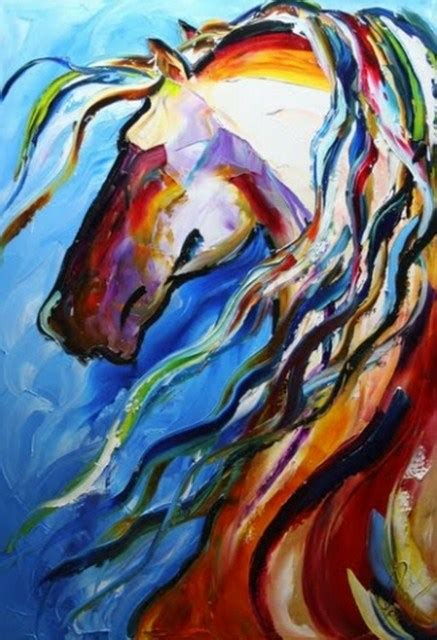 imagenes artisticas abstractas pintura moderna y fotograf 237 a art 237 stica caballo abstracto