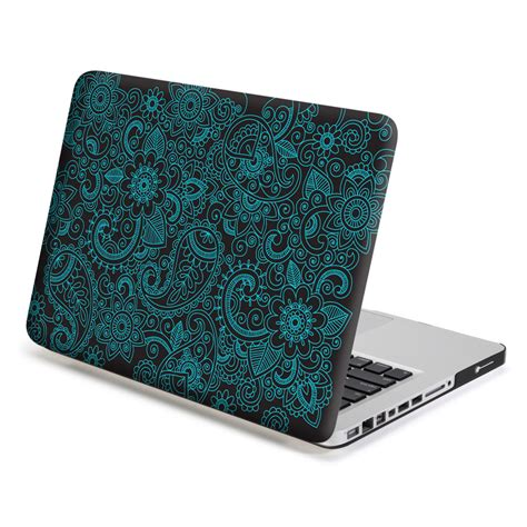 macbook pro case macbook pro 13 case hard case print frosted paisley