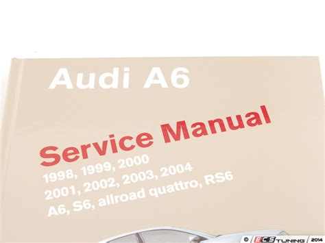 service and repair manuals 2003 audi rs6 user handbook ecs news audi c5 a6 2 7t bentley service manuals