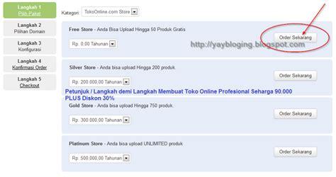 cara membuat blog jual beli online gratis cara membuat toko online gratis candu cara langkah
