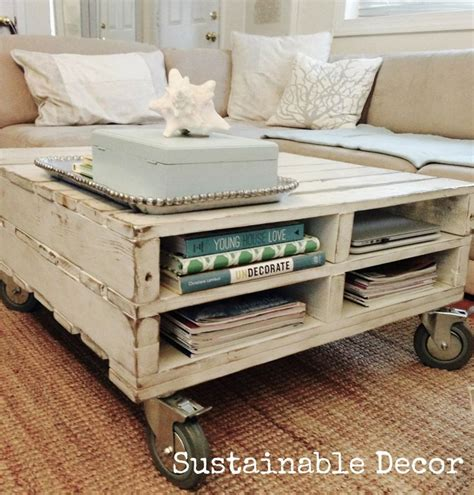 diy pallet coffee table diy cozy home